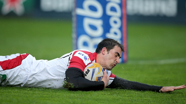 Ruan Pienaar has scored 510 points in 63 games for Ulster
