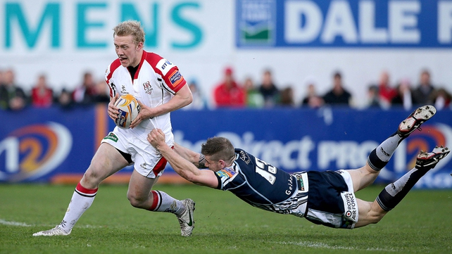 Stuart Olding in from the off at No 15
