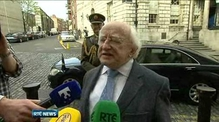 Higgins defends comments on economic crisis