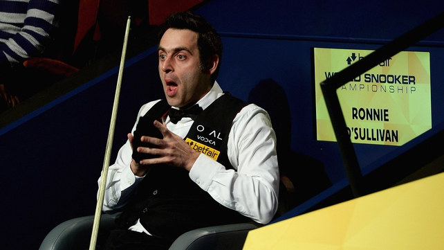 Ronnie O'Sullivan is closing in on his fifth World Championship Final appearance