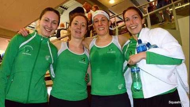 Squash: Ireland beaten in European decider