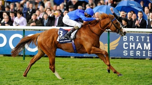 Dawn Approach maintained his unbeaten record with a tremendous effort in the 2000 Guineas