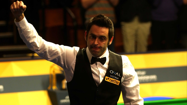 Ronnie O'Sullivan won his fifth world title this year