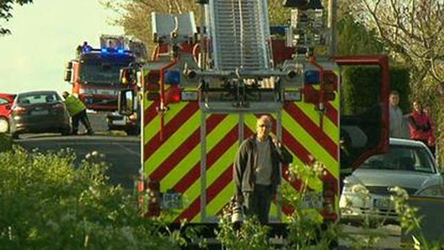 Two children in the car were taken to St Luke's Hospital in Kilkenny