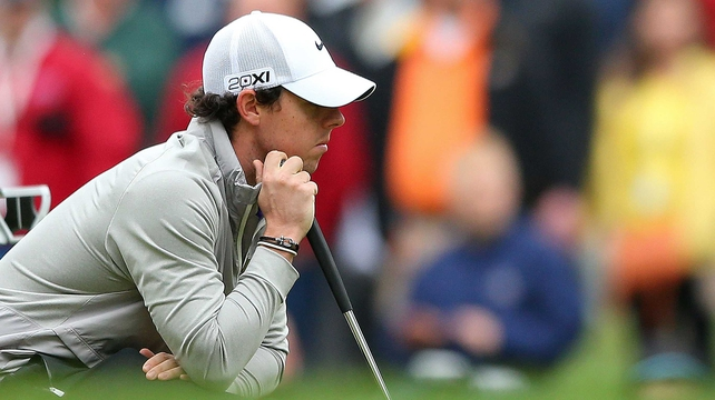 Rory McIlroy is staying quiet over rumours about a split between him and his management team