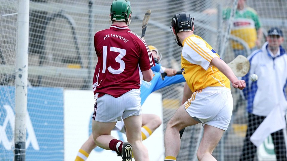Westmeath's Niall O'Brien scored the first goal of the 2013 Championship