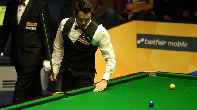 Ronnie O'Sullivan was on the wrong of a 6-4 result against Stuart Bingham
