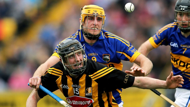 Kilkenny's Aidan Fogarty and Shane McGrath of Tipperary