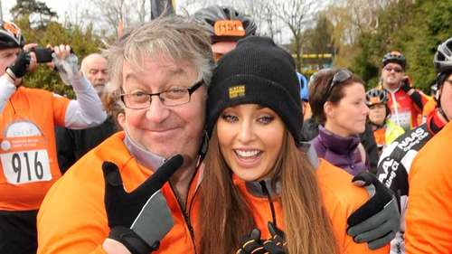2fm's Colm Hayes with Roz Purcell