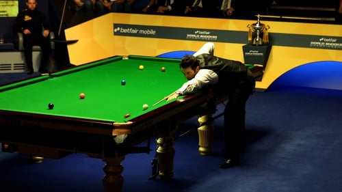 Ronnie O'Sullivan hit two centuries on his way to victory