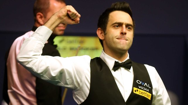 Ronnie O'Sullivan said he believed he was in the entertainment business