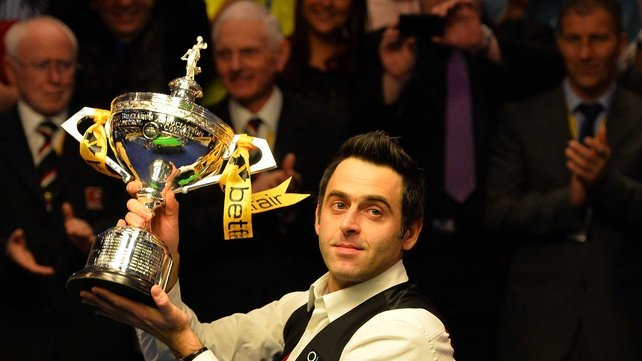 Ronnoe O'Sullivan became the first player since Stephen Hendry in 1996 to win back-to-back World titles