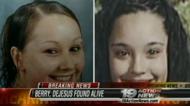 Amanda Berry and Gina DeJesus (R) disappeared over ten years ago