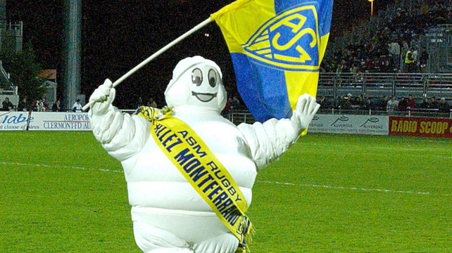Tyres and ASM Clermont Auvergne