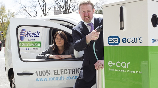 Wheels Couriers goes electric!