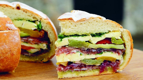 The sexiest sandwich eva? Muffuletta