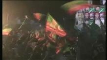 Imran Khan falls during campaign rally