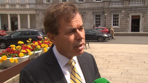 Alan Shatter said the information he revealed was in the public interest