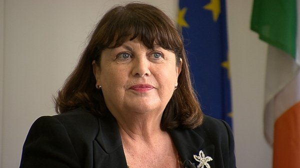 """Máire Geoghegan-Quinn has signed a letter calling for appointment of """"at least ten women"""" to the Brussels Commission"""