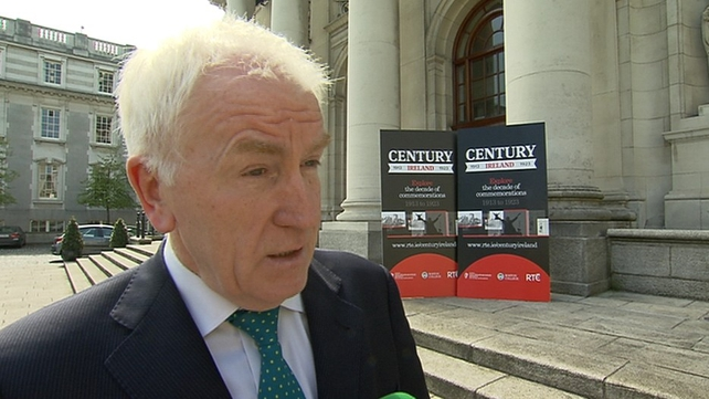 Jimmy Deenihan said he wants to ensure that a dynamic and substantial programme is delivered