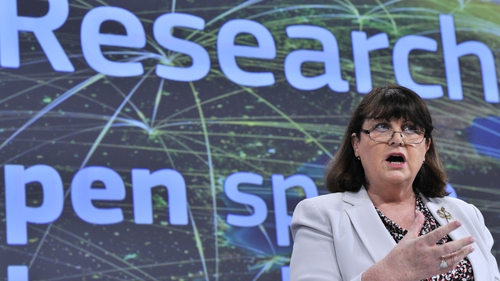 Máire Geoghegan-Quinn said research and innovation is the growth engine in the EU at present