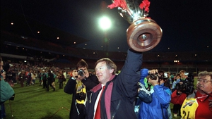 He brought the European Cup Winners Cup to Old Trafford in '91
