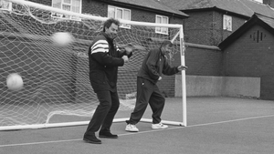 In goals with... Tony Blair?! in '96...