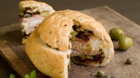 Muffuletta Sandwich - Who said sandwiches have to be boring?