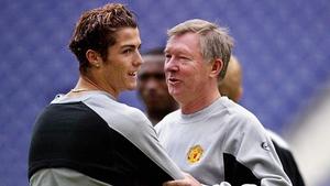 He signed Cristiano Ronaldo in '03
