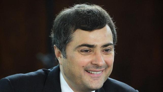 Vladislav Surkov was once Mr Putin's top political adviser