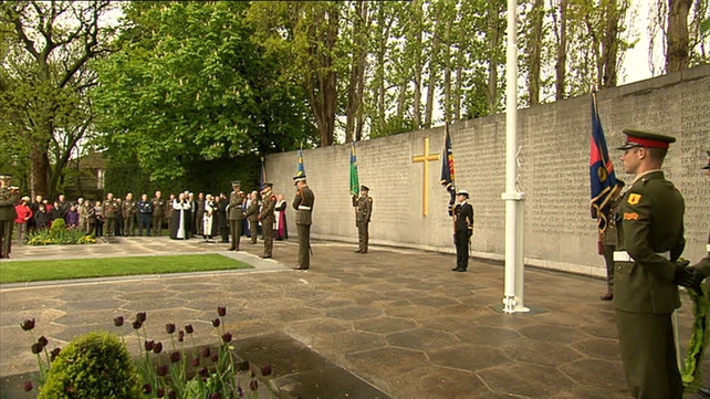 There are 14 leaders of the rising buried at Arbour Hill cemetery.