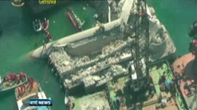 Divers recover seven bodies after Italian ship collides with control tower