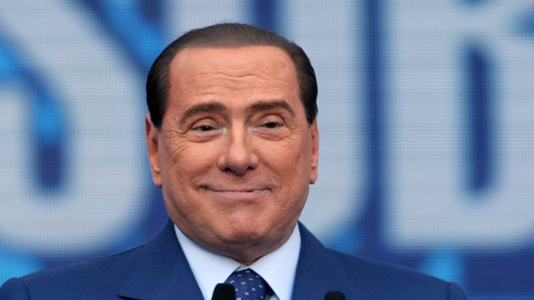 This is Silvio Berlusconi's first definitive conviction in at least two dozen trials