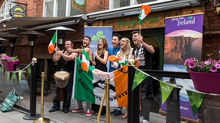 Ireland's Eurovision act welcomed in Malmo