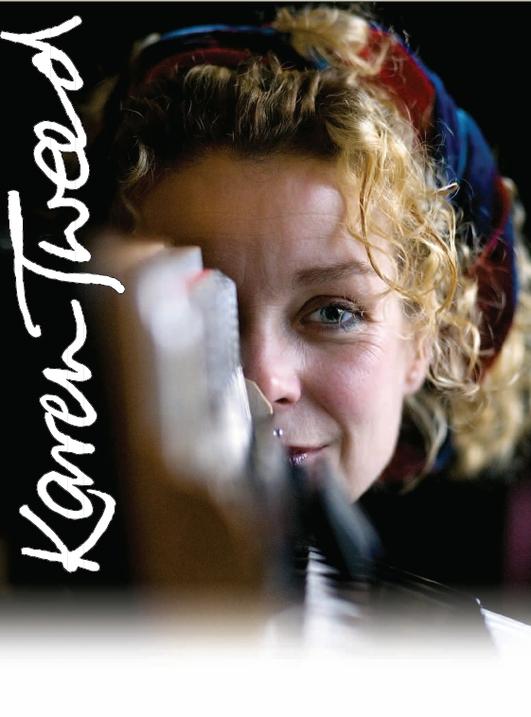 """Karen Tweed ón CD """"Drops of Springwater"""""""