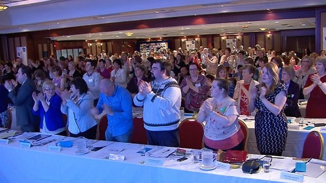 The emergency motion was passed unanimously at today's INMO conference