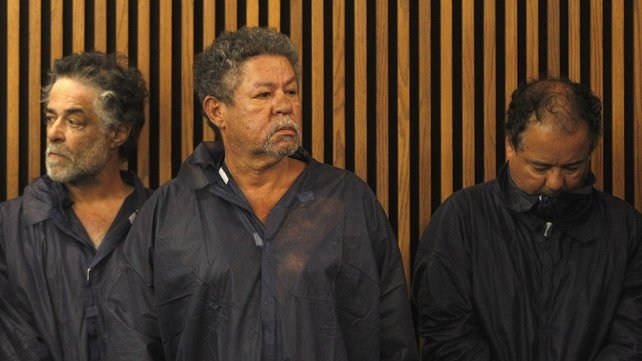Ariel Castro (right) was arraigned on charges of rape and kidnapping, while his brothers face misdemeanour charges