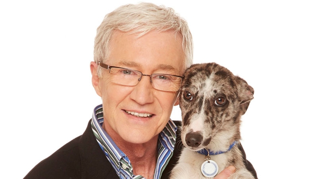 Paul O'Grady and canine chum