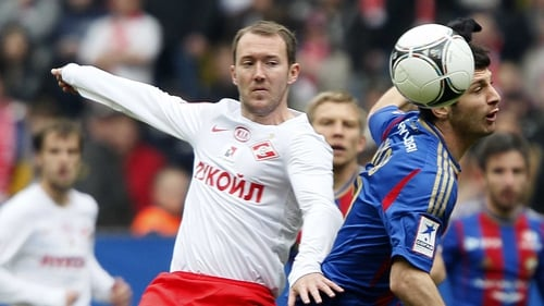 Aiden McGeady, who has 57 Ireland caps, may have played his last game for the Russian club