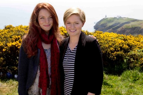 Cecelia Ahern and Between Heaven and Here star Yvonne Catterfeld