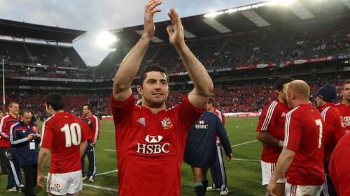Rob Kearney is one of three full-backs in the Lions squad, alongside Scotland's Stuart Hogg and Wales' Leigh Halfpenny