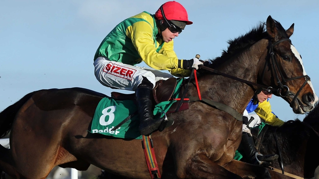 Andrew Lynch carried the Potts silks to victory on Sizing Italy on his first start for trainer Henry de Bromhead