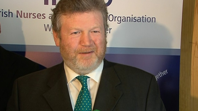 James Reilly announced the establishment of the post of chief nursing officer