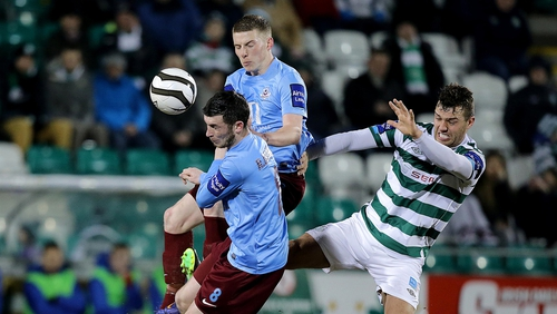 It was honours even at Tallaght Stadium in the league clash in April