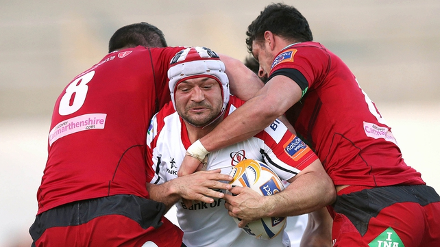 Rory Best and his Ulster teammates brushed past the Llanelli Scarlets at Ravenhill