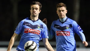 Robbie Benson scored for the fourth match running for UCD
