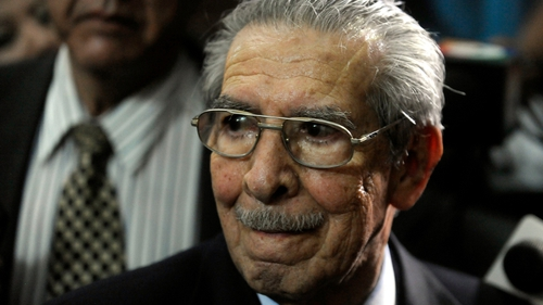 Efrain Rios Montt was accused of implementing a scorched-earth policy