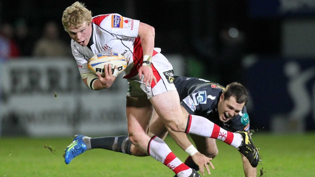Nevin Spence, seen here in action for Ulster
