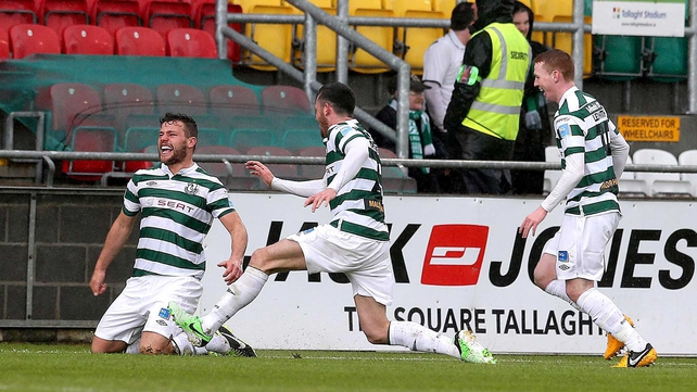 Shamrock Rovers romped to victory in the final of this year's Setanta Sports Cup final