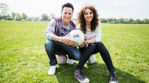 Ireland's Eurovision hopeful Ryan Dolan and Natalia Kelly